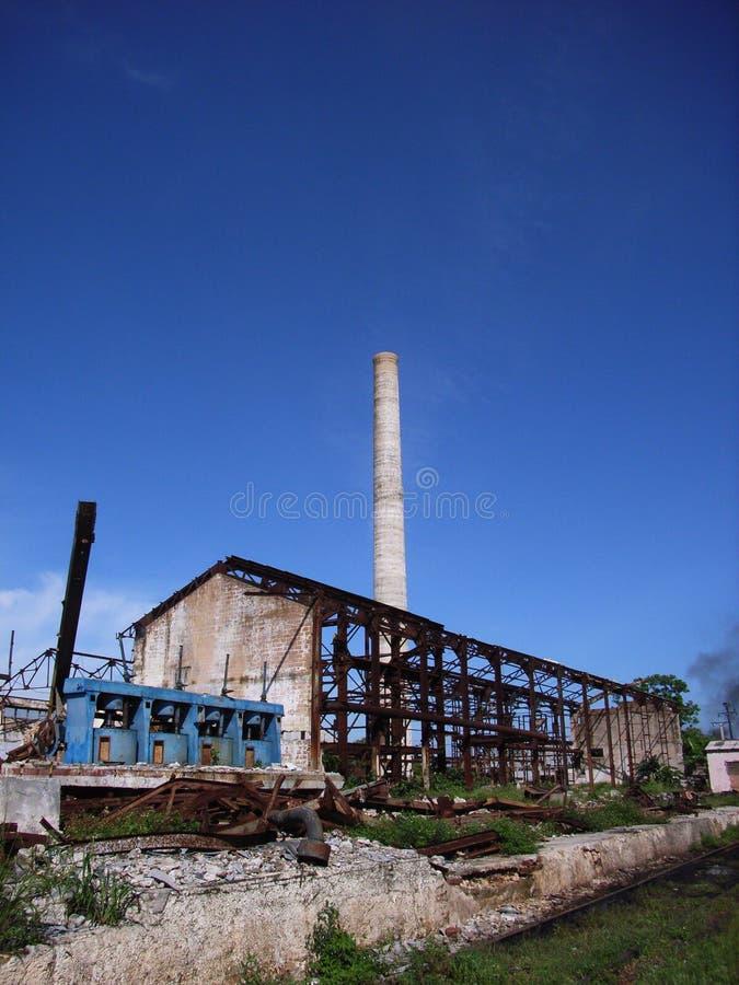 Industrielle Ruine stockbilder