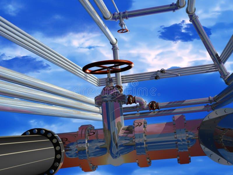 Industrielle Struktur vektor abbildung