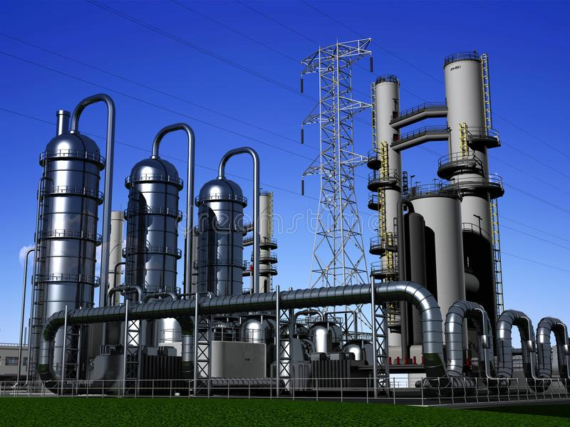 Industrielle Struktur lizenzfreie abbildung