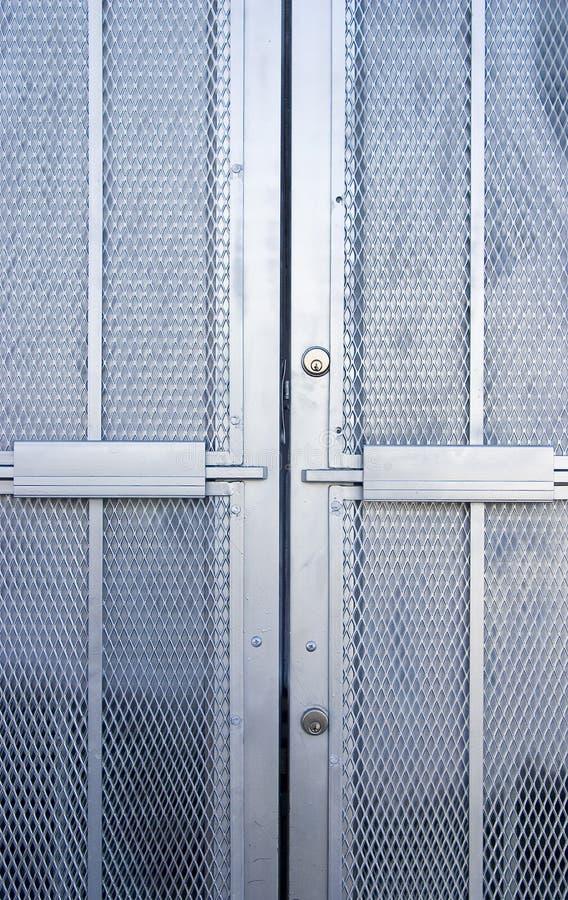 Industrielle Tür 2 stockbilder