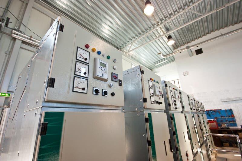Industrielle Werkstatt stockbild