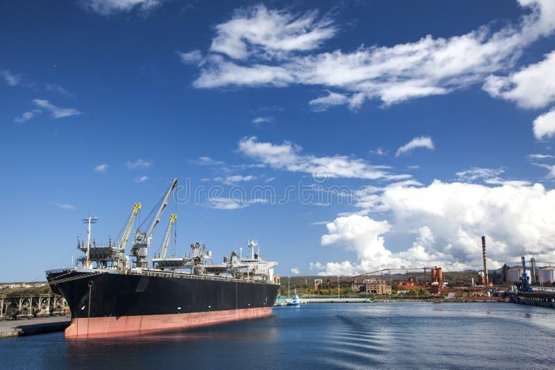 Industrieller Hafen lizenzfreies stockbild