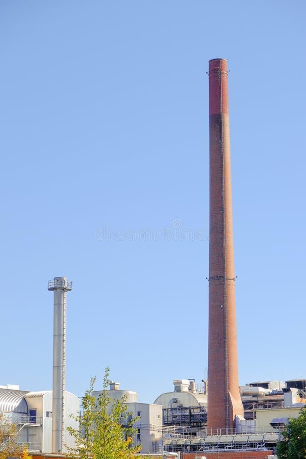 Industrieller Hintergrund stockfoto