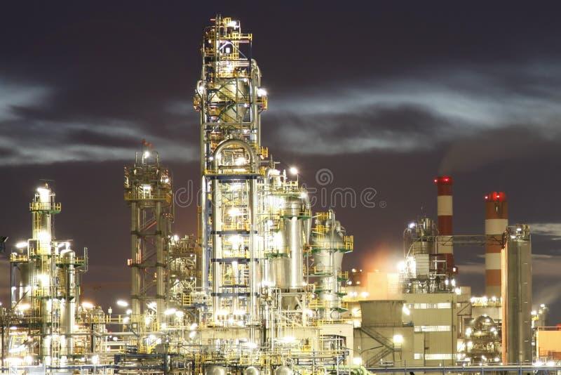 Industrieller Komplex stockfotografie