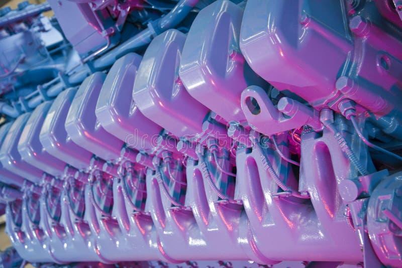 Industrieller Motor lizenzfreie stockfotografie