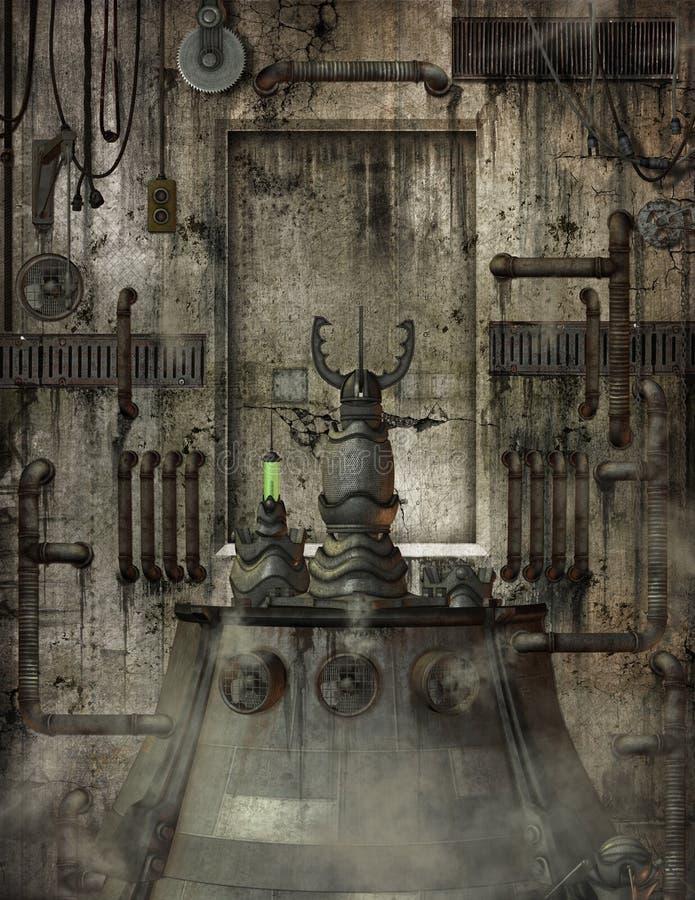Industrieller Raum lizenzfreies stockbild