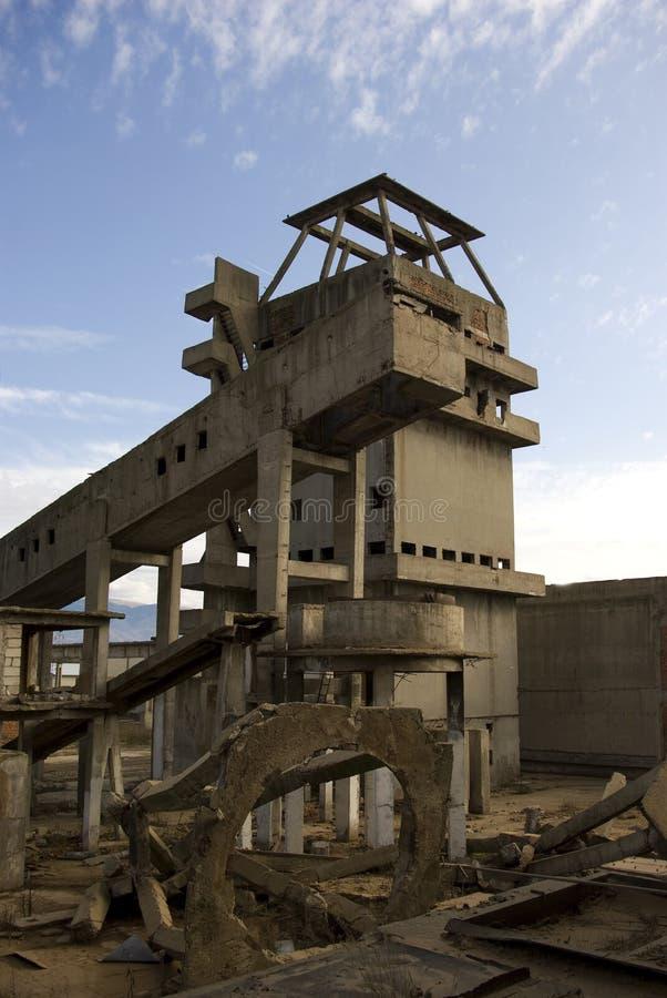 Industrieller Zerfall lizenzfreies stockfoto