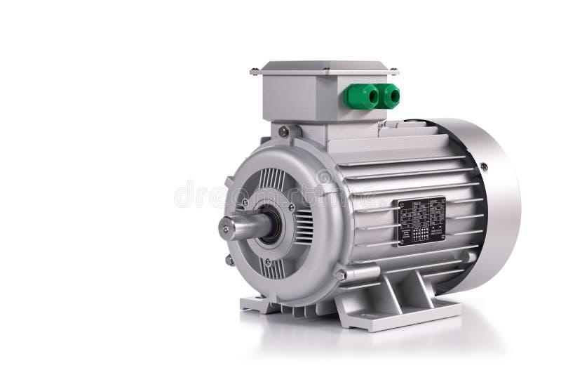 Industrielles Elektromotorsilber stock abbildung