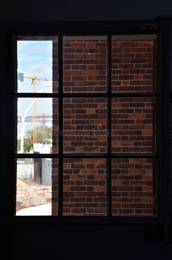 Industrielles Fenster stockfoto