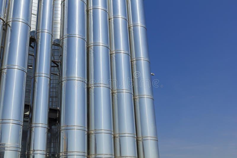 Industrielles Kühlsystem. lizenzfreie stockfotografie