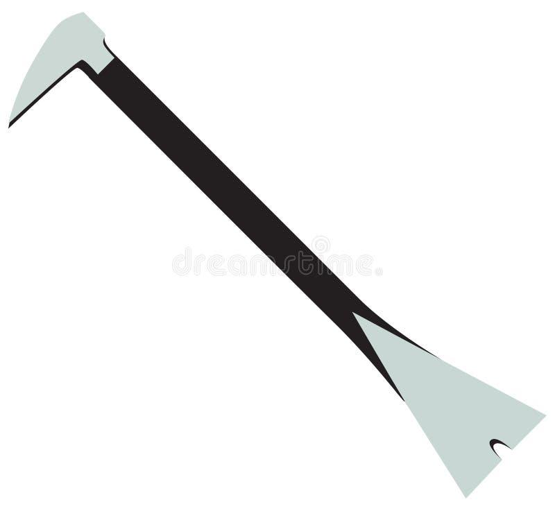 Industrielles Werkzeug Gestaltungsc$nageln vektor abbildung