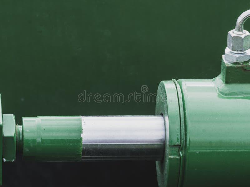 Industriellt detaljerat pneumatiskt stycke arkivfoton