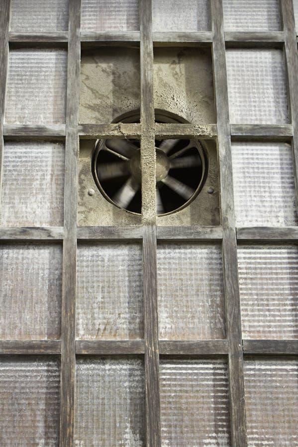 Industriellt fönster royaltyfri bild