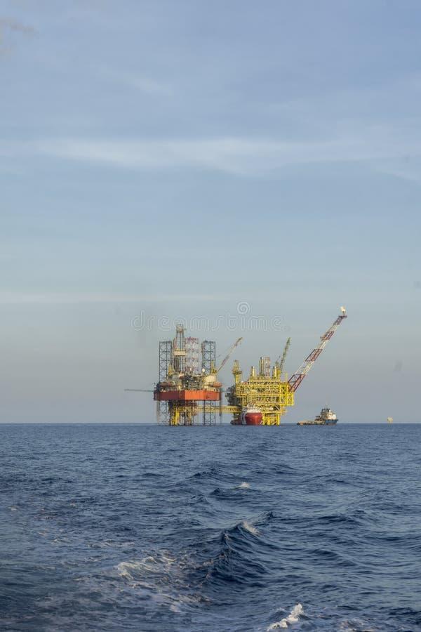Industriellt fossila bränslen fotografering för bildbyråer