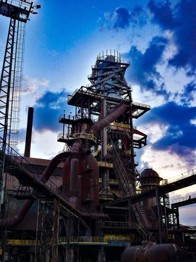 industriellt gammalt för fabrik fotografering för bildbyråer