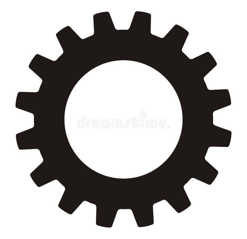 industriellt hjul för kugghjul