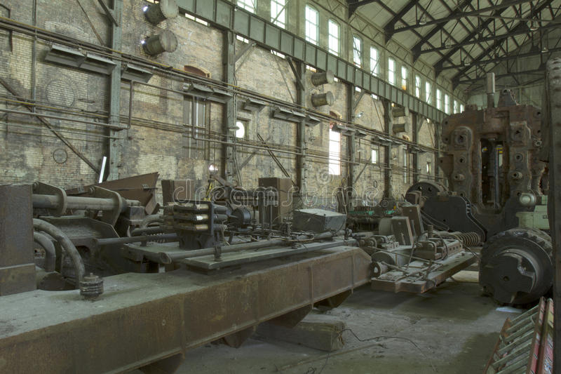 industriellt maskineri royaltyfri bild