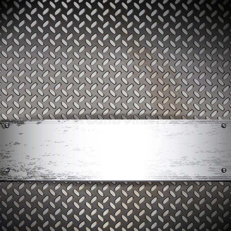 industriellt metalliskt för bakgrundsbaner royaltyfri illustrationer