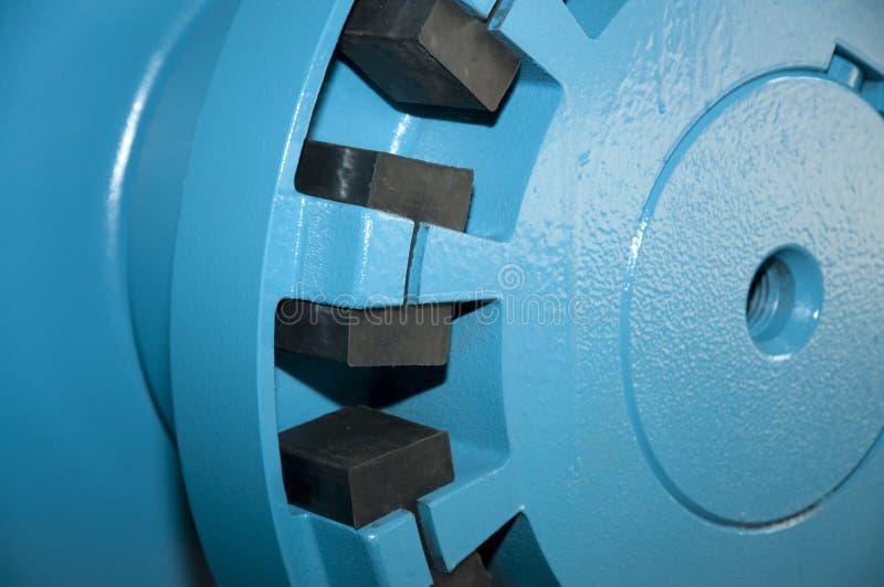 industriellt pumpvakuum för stor detalj arkivbild