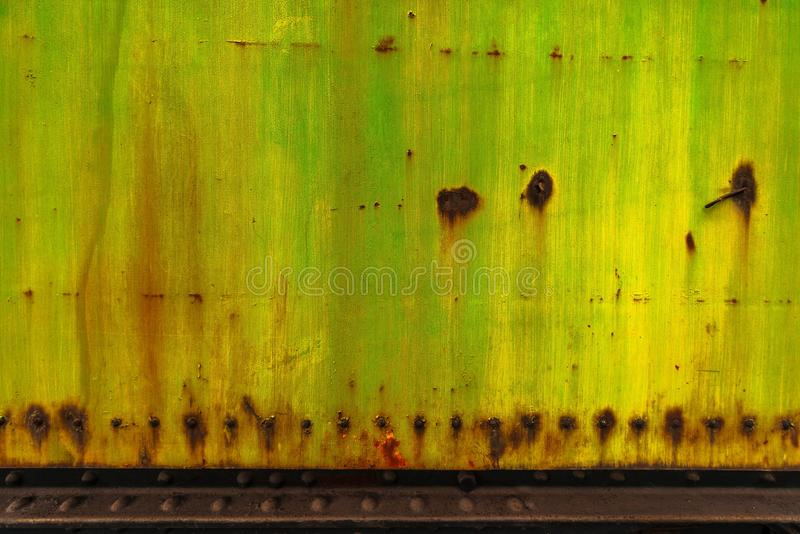 Industriellt slitet metallcloseupfoto royaltyfri fotografi