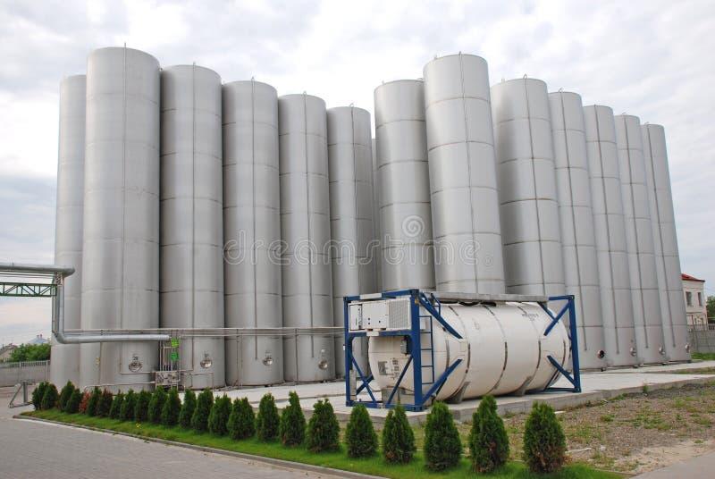 Industriellt stål för bunker