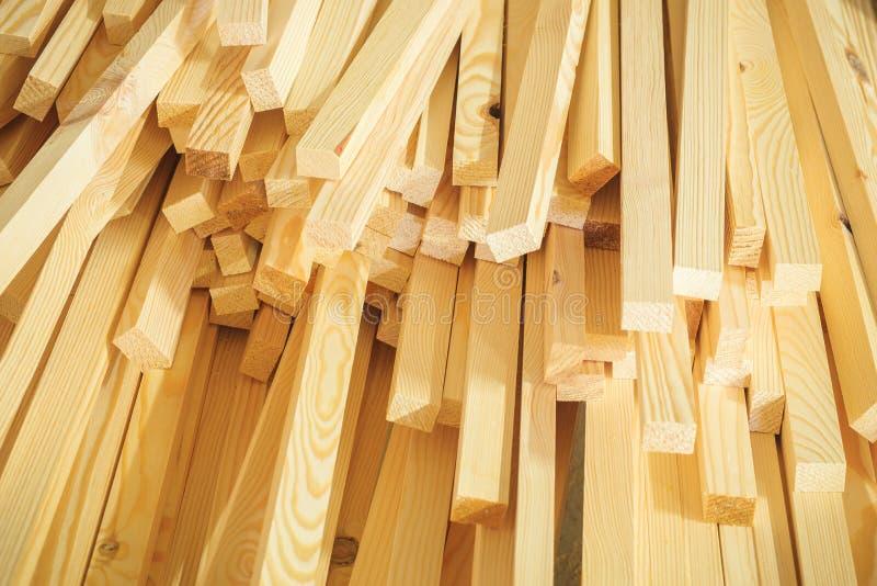 Industriellt trä för timmer arkivbild