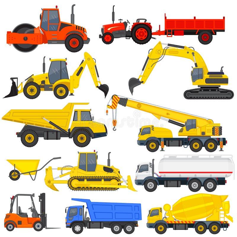 Industriellt trans. vektor illustrationer
