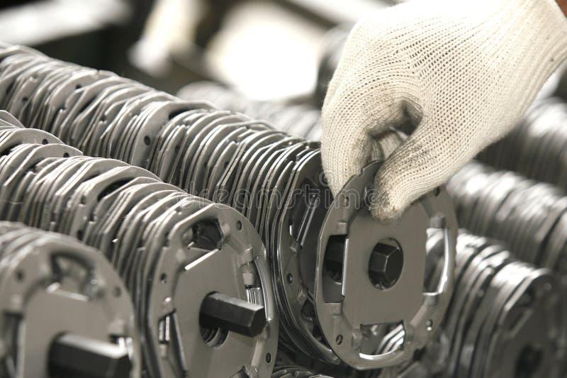 Industrieproducten stock afbeeldingen