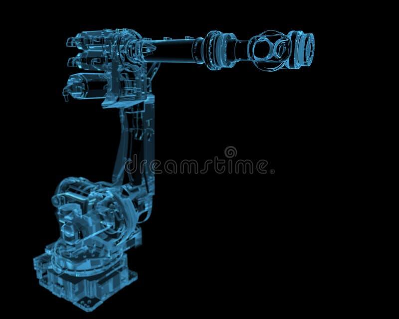 Industrieroboter lizenzfreie stockfotografie