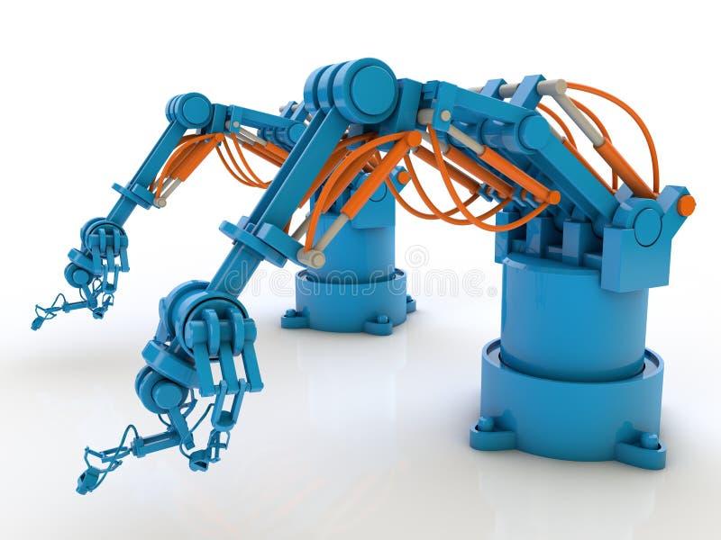 Industrieroboter stock abbildung