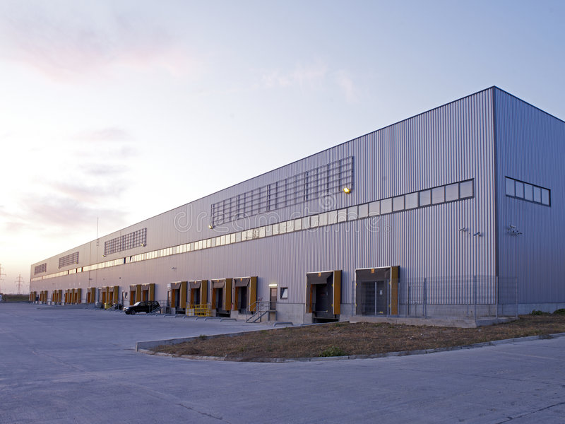 Industries hall stock photos