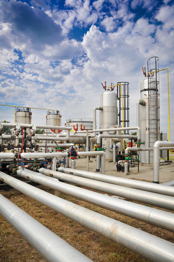 Download Industries Of Oil Refining And Gas Stock Image - Image: 28565367