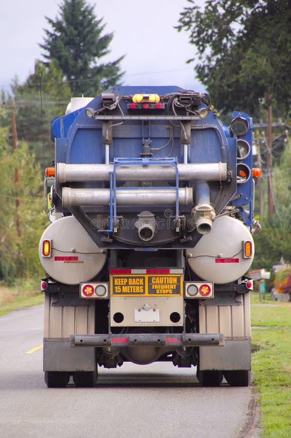 Industriestadt-Straßen-Reinigungs-Fahrzeug lizenzfreie stockfotos