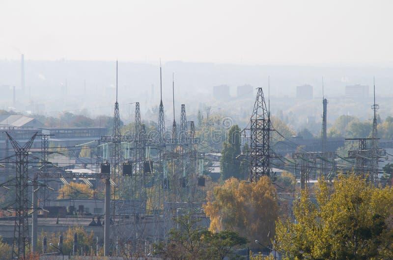 Industrieviertel Autumn View lizenzfreies stockfoto