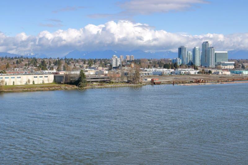 Industriezone de Zuid- van Vancouver stock foto