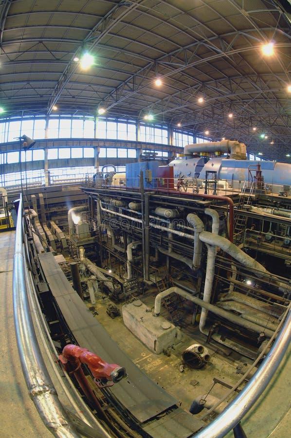 industriinstallationsström arkivfoto