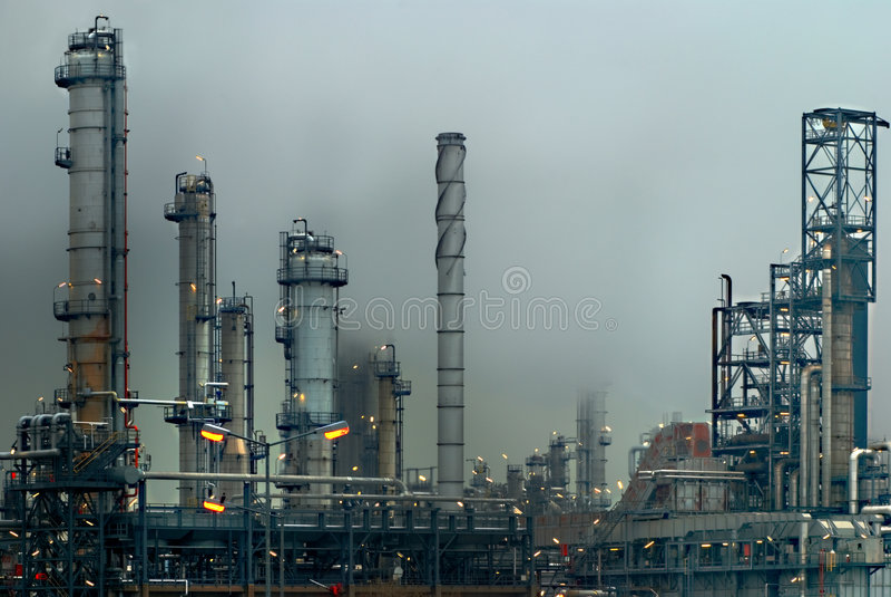 industriolja arkivbilder