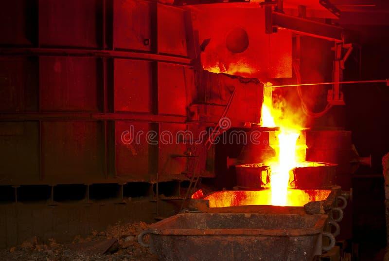 industrismelting royaltyfria foton