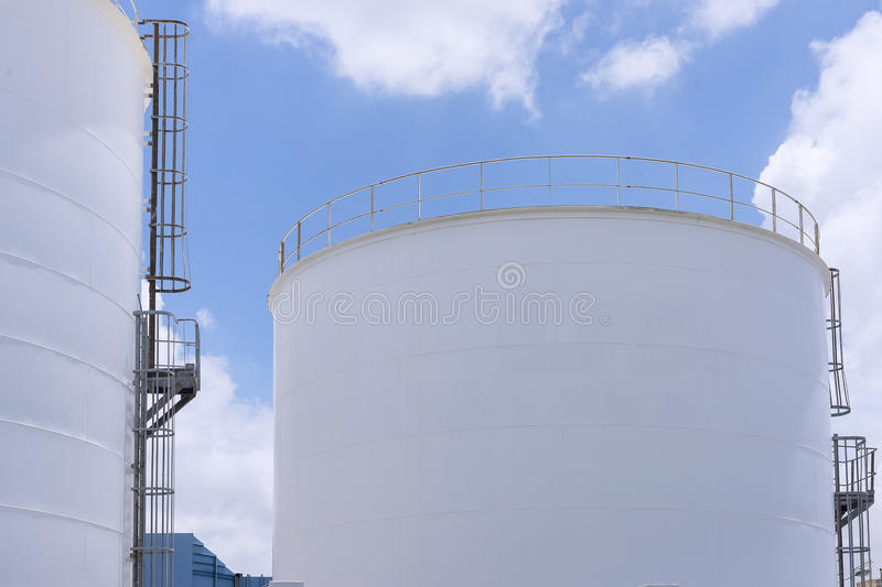 The industry big tank royalty free stock photo