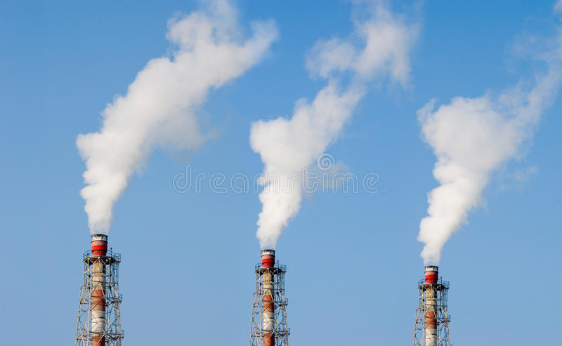 Industry Chimney Royalty Free Stock Photography