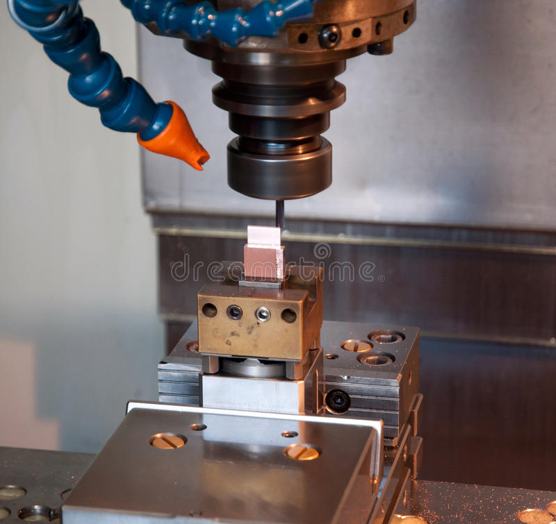 Download Industry - CNC Machines For Mold Making Stock Photo - Image: 23921342