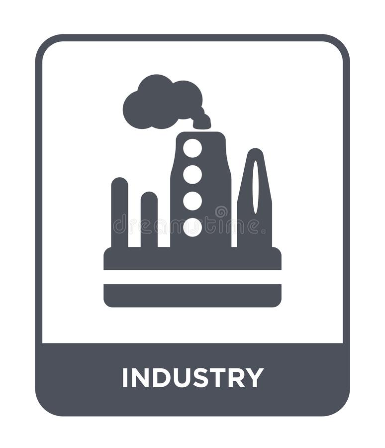 industry icon in trendy design style. industry icon isolated on white background. industry vector icon simple and modern flat royalty free illustration