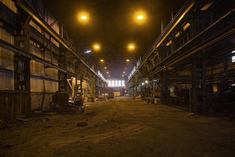 Industry Interior royalty free stock photo