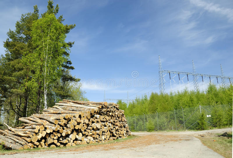 Industry landscape stock images
