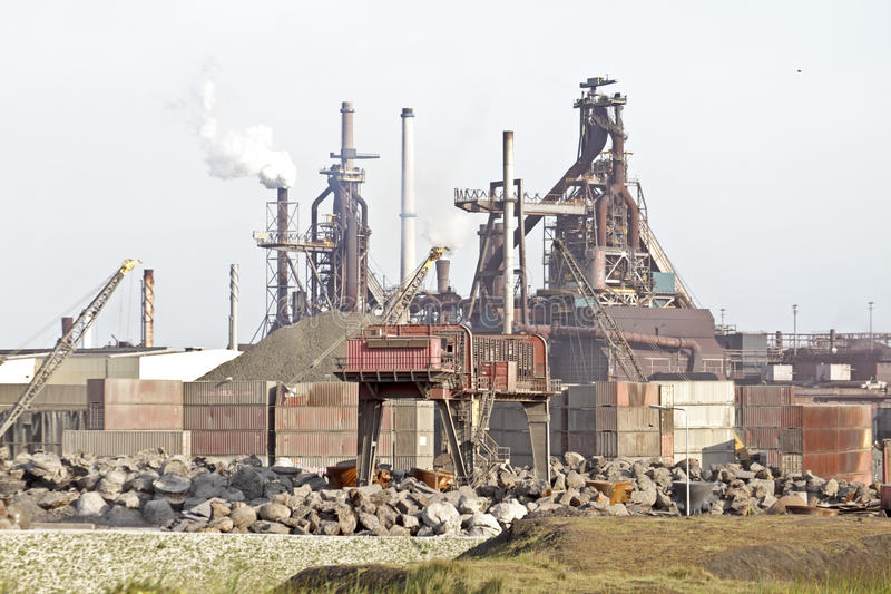 Download Industry Near IJmuiden In Netherlands Stock Photo - Image: 25211492
