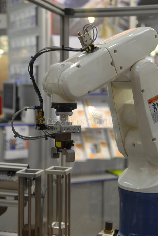 Industry robot stock photos