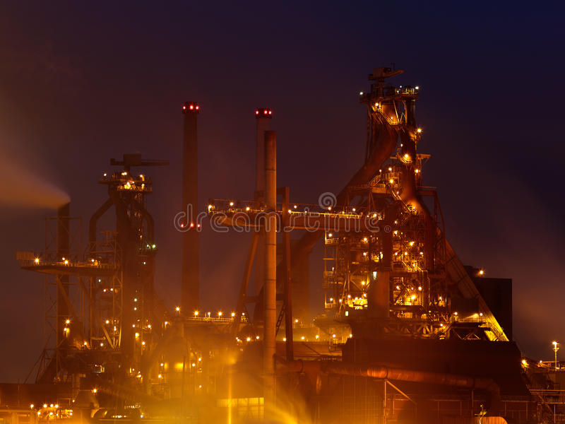 Download Industry View Late At Night Stock Photo - Image: 25561248
