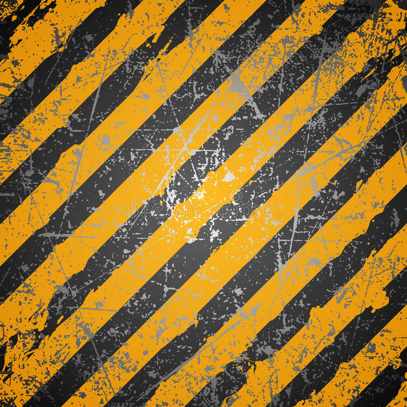 Industry warning background. In vector royalty free illustration