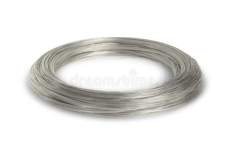 Download Industry wire stock image. Image of shiny, circle, white - 26294411
