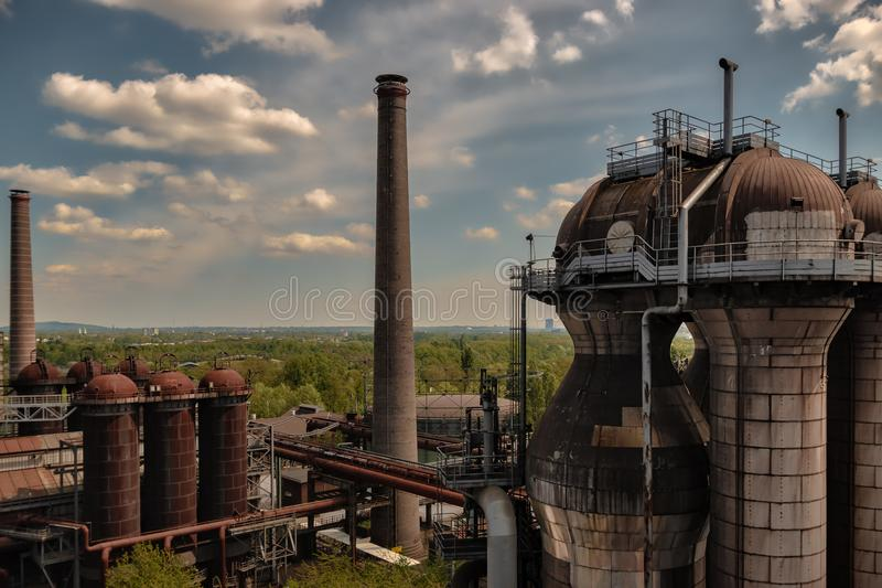 Landschaftspark royalty free stock photo